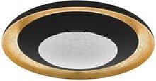 Eglo LED-Deckenleuchte Canicosa 2 in schwarz/gold