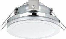 EGLO LED Einbaustrahler Pineda 1, LED Spot aus
