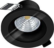 EGLO LED Einbaustrahler Salabate, LED Spot dimmbar