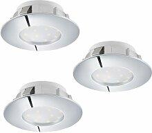 Eglo - Pineda LED Einbaustrahler 3er-Set 3x 500lm