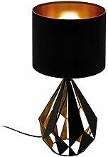 EGLO Tischlampe Carlton 5, 1 flammige Vintage