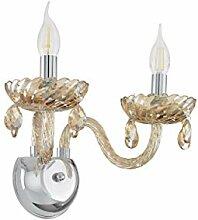 EGLO Wandlampe Basilano, 2 flammige Wandleuchte,