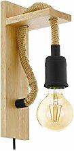 EGLO Wandlampe Rampside, 1 flammige Vintage