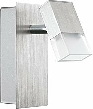 EGLO Wandstrahler, Aluminium, Integriert,