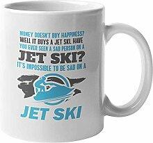 Egoa Becher unmöglich, auf Jet-Ski traurig zu
