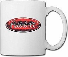 Egoa Coffee Mug Peterbilt Logo Wasserbecher