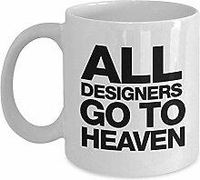 Egoa Kaffeebecher Alle Designer Go to Heaven