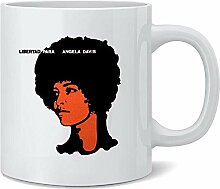 Egoa Kaffeebecher Freie Angela Davis Libertad Für