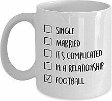 Egoa Kaffeebecher Fußball Kaffeebecher