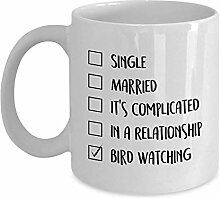 Egoa Kaffeebecher Vogelbeobachtungsgeschenke