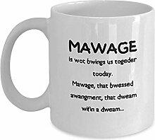 Egoa Mug Mawage Unique Gifts Porzellantasse