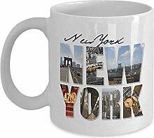Egoa Tasse NYC New York City Grafische Montage
