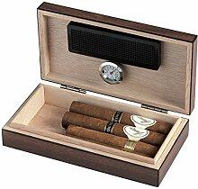 Egoist JK00173 Holz Humidor mit Hygrometer für