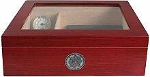 Egoist JK00182 Holz Humidor Box mit Hygrometer