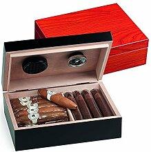 Egoist JK00183 Holz Humidor Box mit Hygrometer