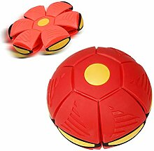 Egosy Frisbees Deformation UFO Ball with Lights
