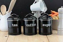 EHC Aufbewahrungsdose für Tee, Zucker, Kaffee,
