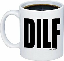 Ehemann Geschenke - DILF Coffe Mug - lustige