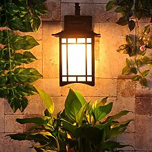 Ehime Außen-Wandleuchten antike Villa Licht
