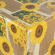 EHT Tischdecke Wachstuch Gartentischdecke rund