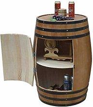 Eiche Weinfass, Weinfass Weinregal aus Holz