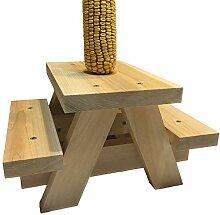 Eichhörnchen Picknicktisch Futterspender –
