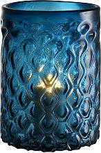 EICHHOLTZ Aquila Windlicht, Blau