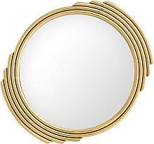 EICHHOLTZ Cesario Spiegel Ø 100 cm, Gold