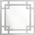 EICHHOLTZ Dior Spiegel 70x70 cm, Edelstahl poliert