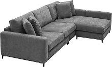 EICHHOLTZ Feraud Lounge Sofa 284 cm, Grau