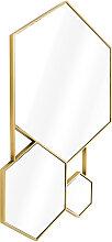 EICHHOLTZ Hexa Spiegel 87x132 cm, Gold