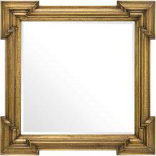 EICHHOLTZ Livorno Spiegel 107x107 cm, Antik-Messing