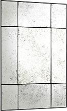 EICHHOLTZ Mountbatten Spiegel 70x110 cm, Schwarz &
