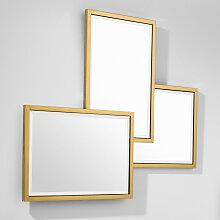 EICHHOLTZ Sensation Spiegel 80x96 cm, Gold
