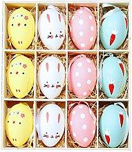 Eier dekorieren,Ostern,Osterdekoration,DIY deko