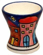 Eierbecher Set/6 Eierständer Eierhalter Keramik
