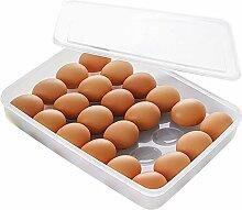 Eierbox Mit Transparenter Abdeckung,Eierhalter