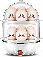 Eierkocher, elektrischer Eierkocher, Dampfgarer