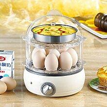 Eierkocher für 8 Eier, elektronische Regelung,