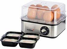 Eierkocher mit Dampfgarer