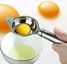 Eiertrenner Edelstahl Ei weiß Trenner Ei