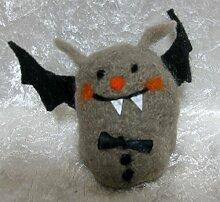 Eierwärmer Aufsteller Filz Fledermaus Halloween