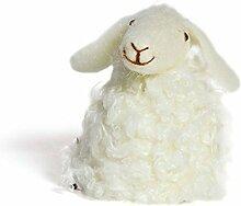 Eierwärmer Aufsteller Schaf weiss Filz Deko