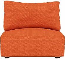 Eiffel Textile Kivik Schutzhülle Sofa Sessel 55 x 195 x 2 cm orange