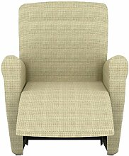 Eiffel Textile Lille Schutzhülle Sofa Sessel 55 x 195 x 2 cm elfenbein