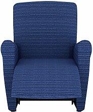 Eiffel Textile Lille Schutzhülle Sofa Sessel 55 x 195 x 2 cm blau