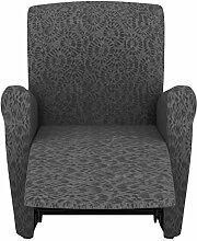 Eiffel Textile Nantes Schutzhülle Sofa Sessel 55 x 195 x 2 cm grau