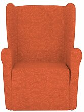 Eiffel Textile Nantes Schutzhülle Sofa Sessel Husse Z51 55 x 195 x 2 cm orange