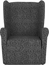 Eiffel Textile Nantes Schutzhülle Sofa Sessel Husse Z51 55 x 195 x 2 cm grau