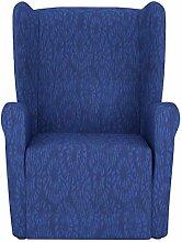 Eiffel Textile Nantes Schutzhülle Sofa Sessel Husse Z51 55 x 195 x 2 cm blau
